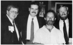 'The Wild Bunch'...Bob Tutty, Ron Daley, Harry Chichester, Steve Cox